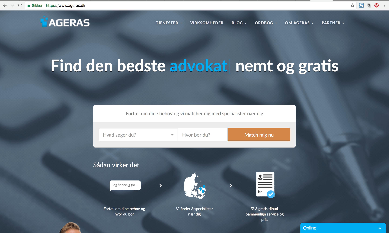 Ageras.dk